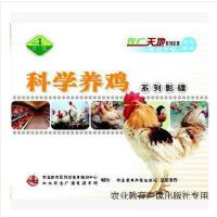原装正版 科学养鸡系列影碟 4VCD 光盘 职业农民培训教材 新型职业农民