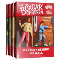 英文原版 棚车少年17-20册套装 The Boxcar Children Mysteries Books 进口英语章节
