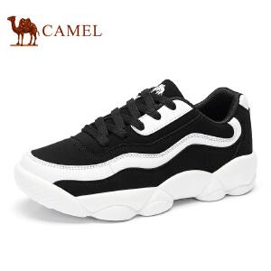 camel骆驼女鞋春季新品户外运动休闲韩版潮流鞋潮鞋