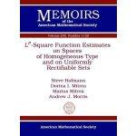 【预订】$L^p$-Square Function Estimates on Spaces of Homogeneou