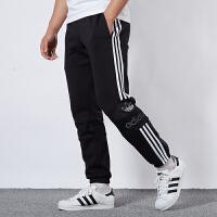 Adidas阿迪达斯男裤三叶草运动裤休闲跑步长裤ED7117