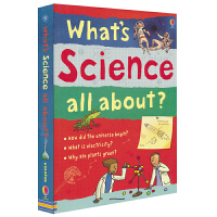 Usborne What's Science all about 包罗万象的科学世界 儿童科普百科英语读物 英文原版图