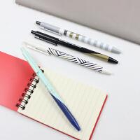 晨光文具可爱创意韩国油笔细原子笔0.38mm蓝色学生用圆珠笔
