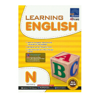 SAP Learning English Nursery 新加坡教辅 学习系列幼儿园英语练习册 3-4岁 小班 新亚出