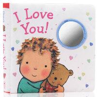 英文原版绘本I Love You Cloth Book 我爱你的晚安系列 睡前故事玩具书 Caroline Jayne