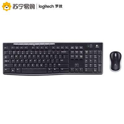 Logitech/罗技 MK270 无线键盘鼠标套装笔记本台式电脑键鼠同款全尺寸键盘 电池耐用