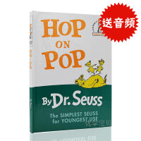 进口英文原版 Hop on Pop 蹦来跳去 Dr Seuss苏斯博士 廖彩杏书单 精装 幼儿早教绘本