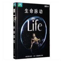 原装正版 生命脉动 4DVD 高清 动物植物昆虫 BBC Life 中英双语 4碟片