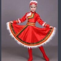 新款少数民族少儿童蒙族舞蹈裙幼儿园蒙古服六一表演出服装男女童2018新品