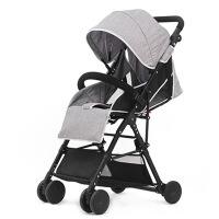 华婴 婴儿推车可坐可躺轻便折叠高景观 宝宝儿童伞车手推车童车