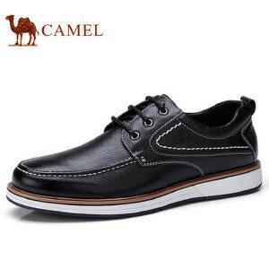 camel 骆驼男鞋秋季新品日常休闲百搭低帮男鞋休闲皮鞋男