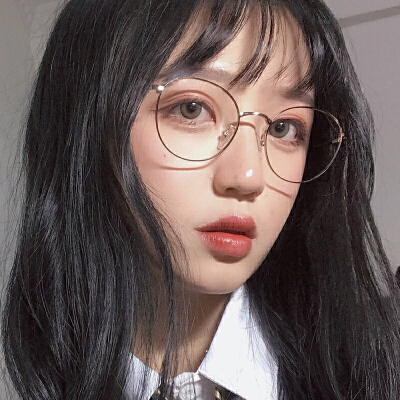 复古原宿金边圆眼镜框女轻近视眼镜网红镜架素颜神器