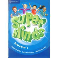 英音版剑桥小学英语教材 Super Minds Level 1 Flashcards (Pack of 103) 教学卡片Level 1级别