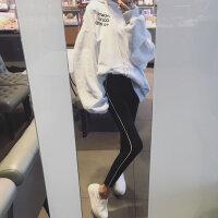 孕妇打底裤春秋薄款春夏孕妇裤托腹裤子2018新款春季潮妈外穿春装 黑色