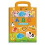 字母ABC我的创意磁力贴0-3-6岁儿童字母磁铁拼图益智启蒙认知撕不烂翻翻书好玩的专注力贴纸书益智书籍 开发大脑