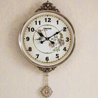 挂钟客厅个性创意时尚钟表现代简约大气时钟家用表北欧式静音壁钟 20英寸