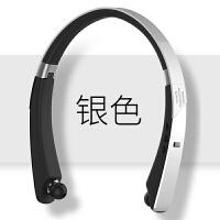 颈挂脖式无线蓝牙耳机双耳塞式运动入耳式可接听电话男女通用型超长待机脑后式手机电脑重低音炮防水音乐项圈 官方标配