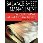 【预订】Balance Sheet Management Balance Sheet Management