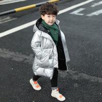 №【2019新款】冬天儿童穿的男童冬装儿童小童洋气中长款棉袄外套羽绒棉衣潮