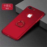 BaaN iphone7PLUS手机壳苹果7PLUS全包指环支架手机保护套 中国红