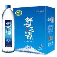舒达源 天然苏打水 1.5L*6瓶 弱碱性 饮用水