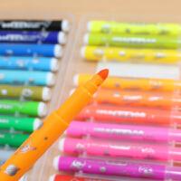 晨光水彩笔超级飞侠大容量三角杆儿童绘画笔24色36色可水洗水彩笔