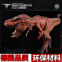 实心动物模型儿童玩具霸王龙暴龙儿童仿真恐龙玩具模型