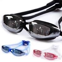 儿童大框游泳镜 近视高清防水防雾泳镜 男\女士成人游泳眼镜 电镀游泳眼镜