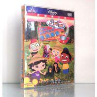 原装正版 迪士尼动画片 小爱因斯坦 dvd 非洲探索 (3-6岁) 中英双语