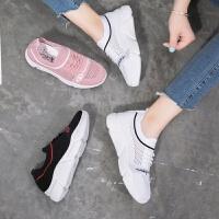女鞋夏季2019新款韩版百搭运动鞋透气网面鞋休闲单鞋学生跑步女鞋