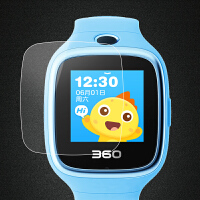 360儿童电话手表钢化膜巴迪龙7C/6C/5c/6W/6S玻璃防爆保护贴膜7c护眼抗蓝光 6W【 2.5D弧边高清钢化膜