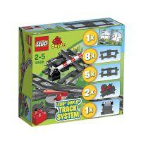 德国直邮 丹麦LEGO乐高Duplo拼插积木玩具 火车配件补充装(2~5岁) 10506 开发动手能力,摆脱手机电脑