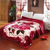 拉舍尔毛毯 加厚双层学生毯 空调毯盖毯卡通学生单人毯双人珊瑚绒毯子 毛巾被