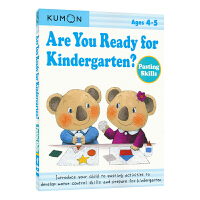 Kumon Are You Ready for Kindergarten Pasting Skills 公文式教育 幼