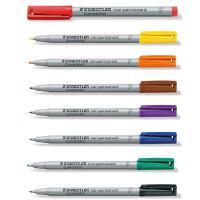 德国 施德楼STAEDTLER 316 F 可补充多颜色水性投影笔 红/黑/蓝