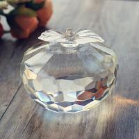 创意平安夜礼品女生新奇特别圣诞节礼物送老婆闺蜜浪漫水晶小苹果