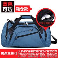 户外旅行大包男女包手提大容量单肩健身包短途行李包鞋位旅行袋训练运动包