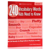 英文原版Vocabulary Words Kids Need to Know Grade 1 一年级孩子需要知道的24