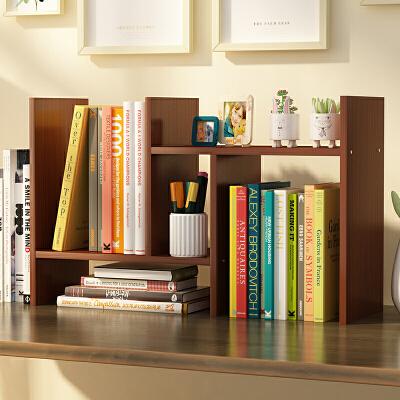 书架 简易现代创意家用桌上置物架儿童组合书桌面收纳学生用宿舍小书柜简约现代多功能储物柜
