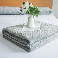 一默 乳胶热床发褥 天然乳胶填充内芯 双人床床褥 冬季床褥 加厚床褥1.8*2.0M