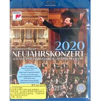 现货 中图音像 2020维也纳新年音乐会 1BD 蓝光 原装进口 原版 指挥安德里斯・尼尔森斯