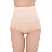 高腰收腹内裤蕾丝提臀塑身无痕产后女士内裤