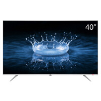 TCL 40A860U 40英寸32核人工智能 超智慧 超薄4K 超高清电视机(银色)