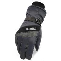 男士保暖手套 冬季防水防滑防寒电动车摩托车滑雪手套