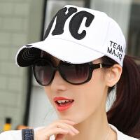 帽子女夏天新款鸭舌帽韩版百搭学生棒球帽街头遮阳帽休闲嘻哈帽潮