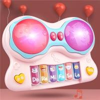儿童电子琴宝宝音乐拍拍鼓婴幼儿益智玩具钢琴多功能