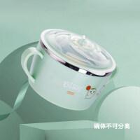 【支持礼品卡】婴儿碗勺套装辅食吸盘碗新生儿勺子儿童叉子套装 儿童餐具f6x