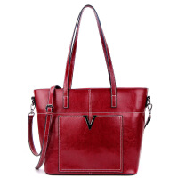 2018夏季新款真皮女包大容量欧美时尚休闲百搭购物袋手提包单肩包女士包包