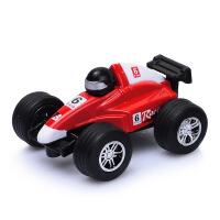 1:43迷你合金汽车模型Q版F1方程式赛车铁皮车口袋玩具带回力功能