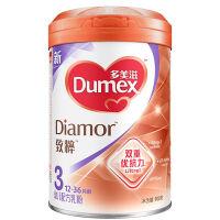 多美滋(Dumex)致粹幼儿配方乳奶粉3段(12-36个月幼儿适用)900克